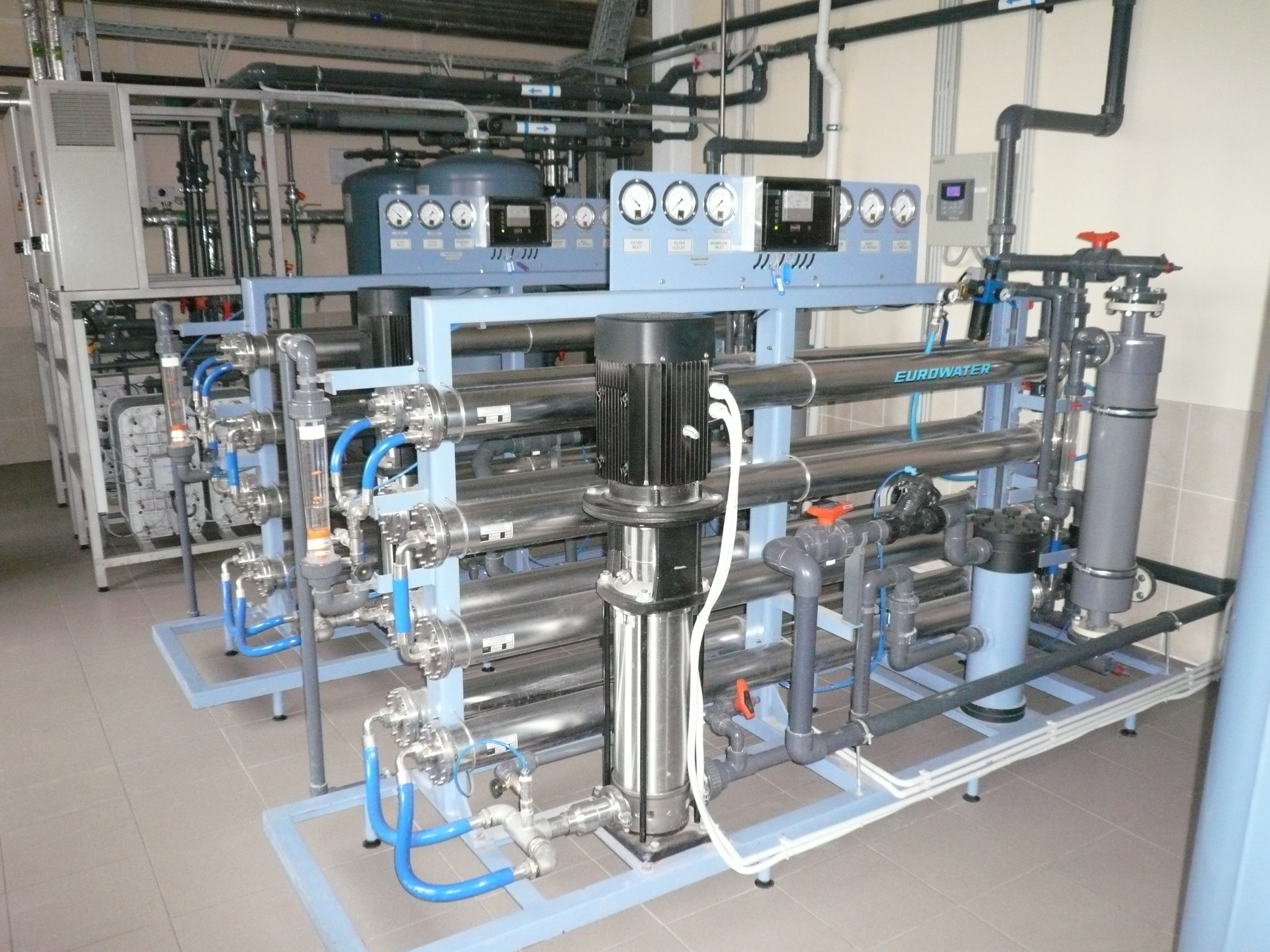 CHP plant water treatment in Lithuania